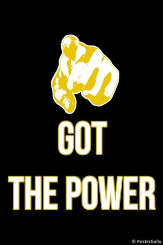 Wall Art, Have You Got The Power?, - PosterGully
