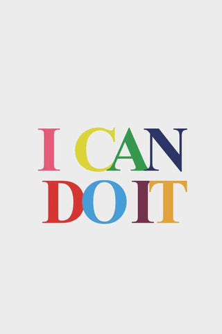 I Can Do It |  PosterGully Specials