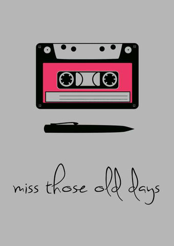 Wall Art, Miss Those Old Days Artwork | Artist: Soumajit Dutta, - PosterGully
