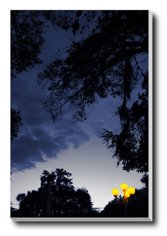 Canvas Art Prints, Day And Night Stretched Canvas Print, - PosterGully - 1