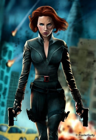 Wall Art, Black Widow, - PosterGully