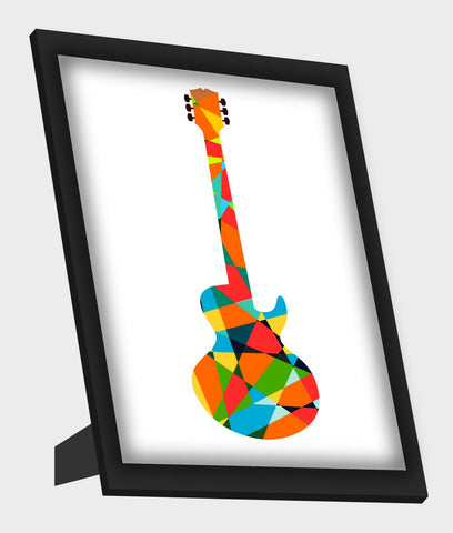 Framed Art, Pop Guitar Framed Art, - PosterGully