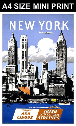 Mini Prints, New York | Mini Print, - PosterGully