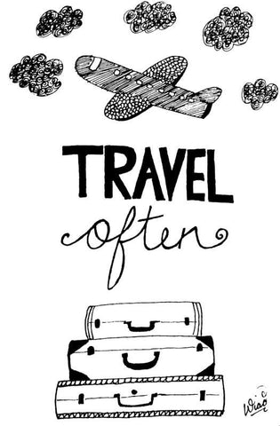 Wall Art, Travel Often Artwork  | Artist: Sanira Mediratta, - PosterGully