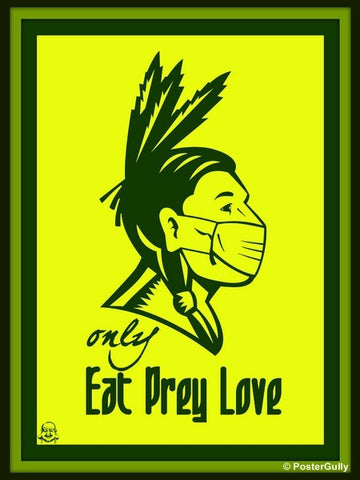 Wall Art, EPL | Eat Pray Love, - PosterGully