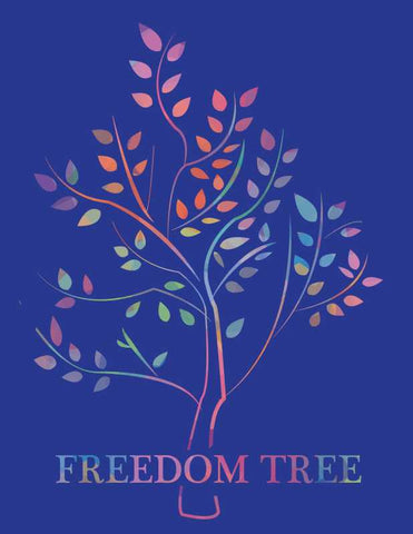 Wall Art, Freedom Tree Artwork | Artist: Shloka Bajaj, - PosterGully