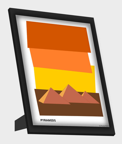 Framed Art, Egypt Minimal Framed Art, - PosterGully