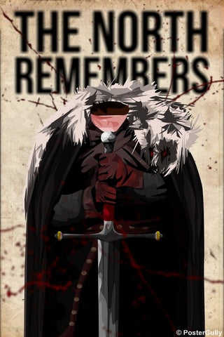 Wall Art, Game of Thrones | North Remembers, - PosterGully