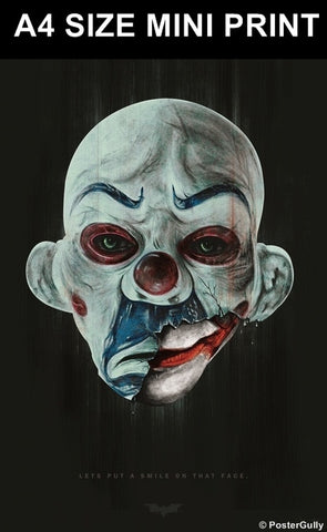 Mini Prints, The Joker | Maniac Mask by Raj Khatri | Mini Print, - PosterGully