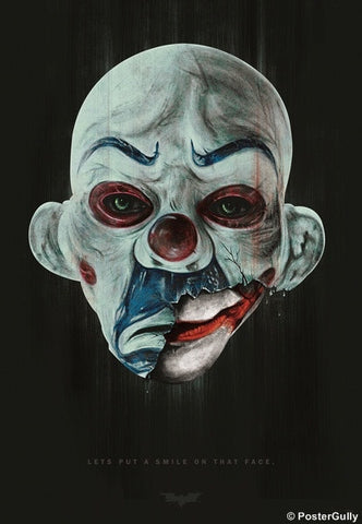 Wall Art, The Joker | Maniac Mask by Raj Khatri, - PosterGully
