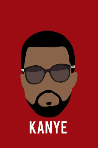 Kanye West Minimal |  PosterGully Specials