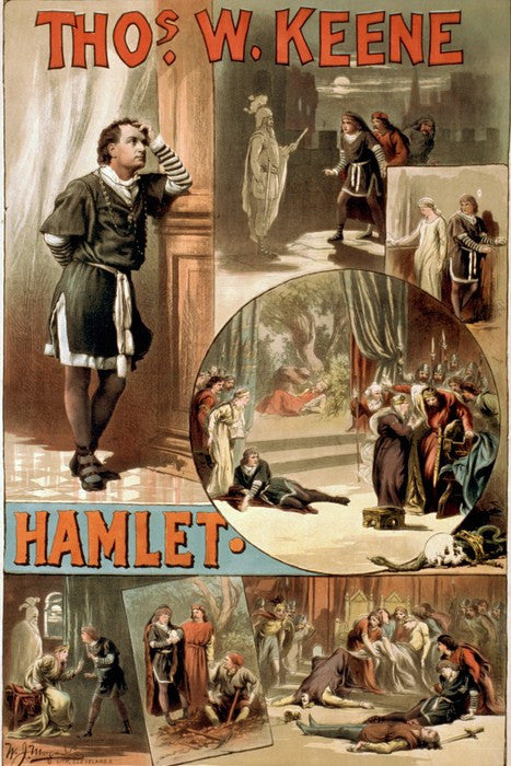 Wall Art, Hamlet Old Poster, - PosterGully