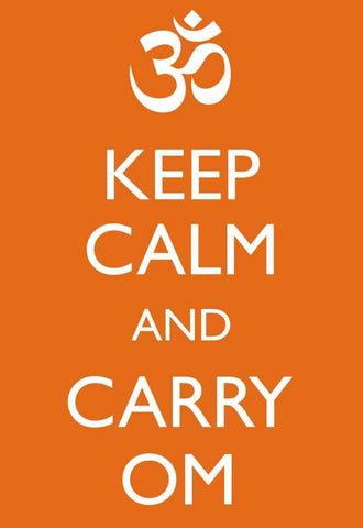 Keep Calm & Carry Om |  PosterGully Specials