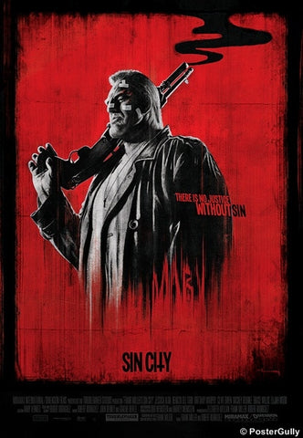 Wall Art, Sin City Red Artwork by Raj Khatri, - PosterGully