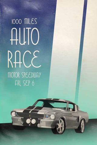 Auto Race Vintage Racing |  PosterGully Specials