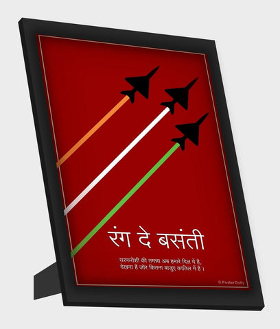 Framed Art, Rang De Basanti Framed Art, - PosterGully