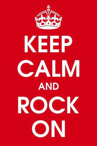 Keep Calm And Rock On |  PosterGully Specials