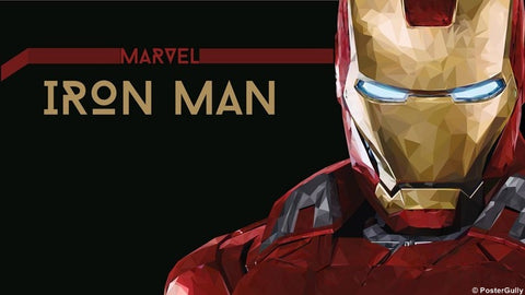 Wall Art, Iron Man Artwork Rendition, - PosterGully