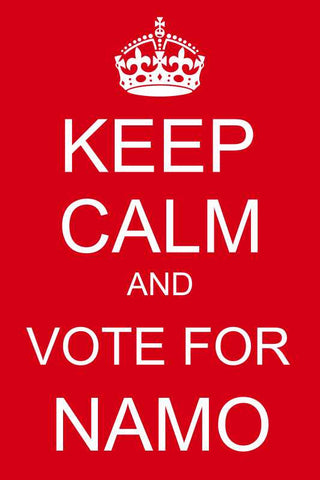 Keep Calm and Vote For Namo |  PosterGully Specials