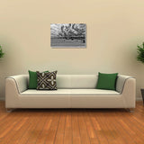 Canvas Art Prints, Morning Sun Stretched Canvas Print, - PosterGully - 3