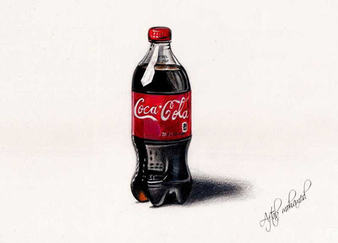 Wall Art, Coca Cola Artwork | Artist: Aftab Mohamed, - PosterGully