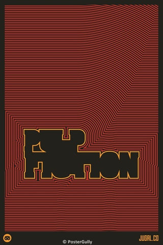 PosterGully Specials, Pulp Fiction: Minimalist, - PosterGully