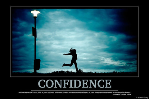 Wall Art, Confidence | Motivational, - PosterGully