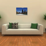 Canvas Art Prints, Half Awake Stretched Canvas Print, - PosterGully - 3