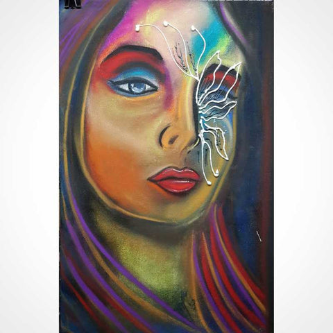 Wall Art, Ledy Painting Artwork | Artist: Vikram Singh, - PosterGully