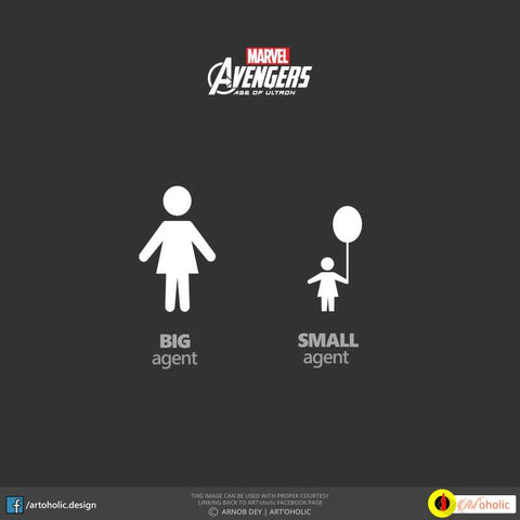 Square Art Prints, Avengers Minimal Artwork | Artist: Arnob Dey, - PosterGully