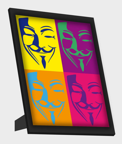 Framed Art, Vendetta Pop Art Framed Art, - PosterGully
