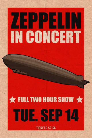 Led Zeppelin In Concert |  PosterGully Specials