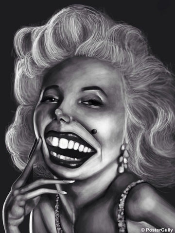 Wall Art, Marilyn Monroe Caricature, - PosterGully