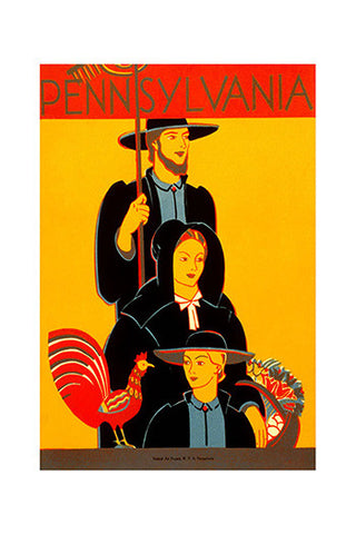 Wall Art, Pennsylvania People, - PosterGully