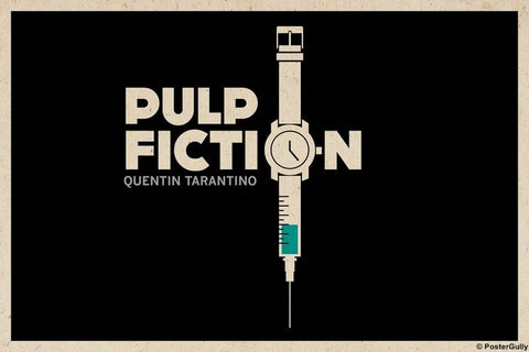 Wall Art, Pulp Fiction Watch Minimal, - PosterGully