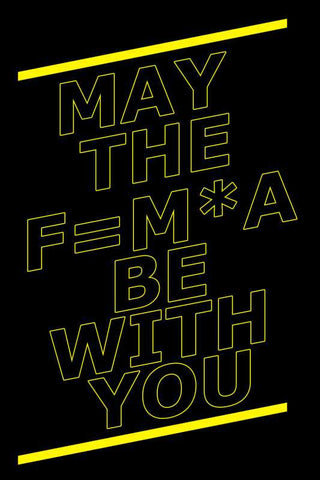 May The Force Be With You Star Wars |  PosterGully Specials