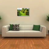 Canvas Art Prints, Bright Sight Stretched Canvas Print, - PosterGully - 3