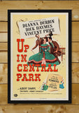 Brand New Designs, Up In Central Park | Retro Movie Poster, - PosterGully - 2