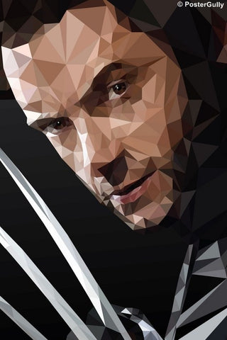 Wall Art, X-Men Wolverine Artwork| By Abhishek Aggarwal, - PosterGully