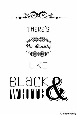 Wall Art, Beauty | Black & White, - PosterGully