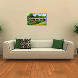 Canvas Art Prints, His Heaven Stretched Canvas Print, - PosterGully - 3