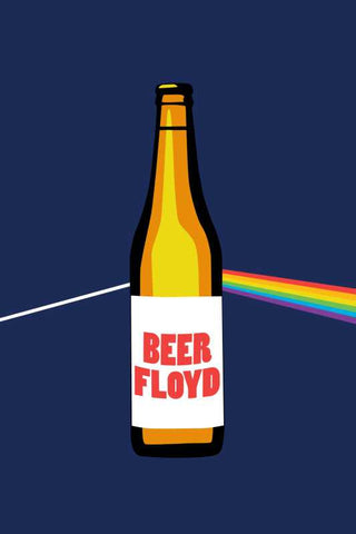 Beer Floyd Pink Floyd Humour |  PosterGully Specials