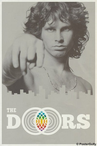 Wall Art, Jim Morrison | The Doors, - PosterGully