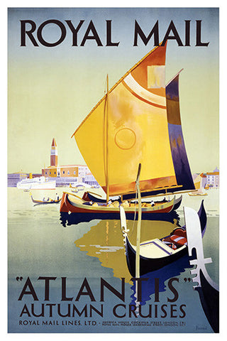 Wall Art, Atlantis Autumn Cruises, - PosterGully