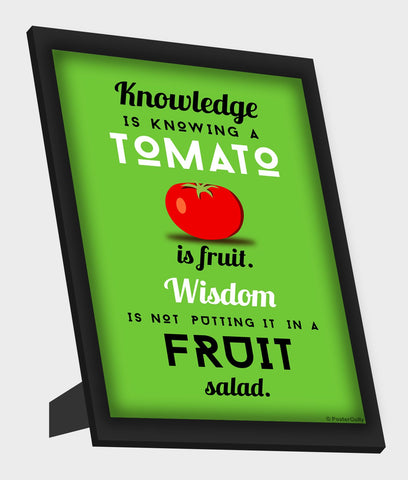 Framed Art, Wisdom Humour Framed Art, - PosterGully