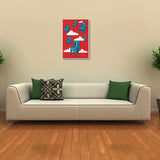 Canvas Art Prints, Flying Chairs Stretched Canvas Print, - PosterGully - 3