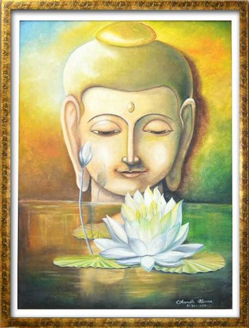 Wall Art, Buddha Inner Peace Artwork | Artist: Anirudh Khanna, - PosterGully