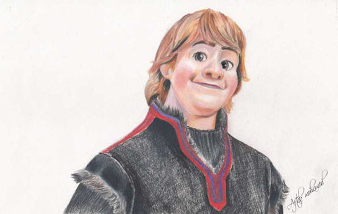 Wall Art, Kristoff Artwork | Artist: Aftab Mohamed, - PosterGully