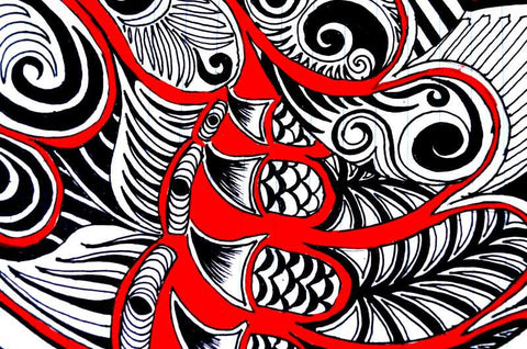 Brand New Designs, Claws Abstract Artwork  | Artist: Awanika Anand, - PosterGully