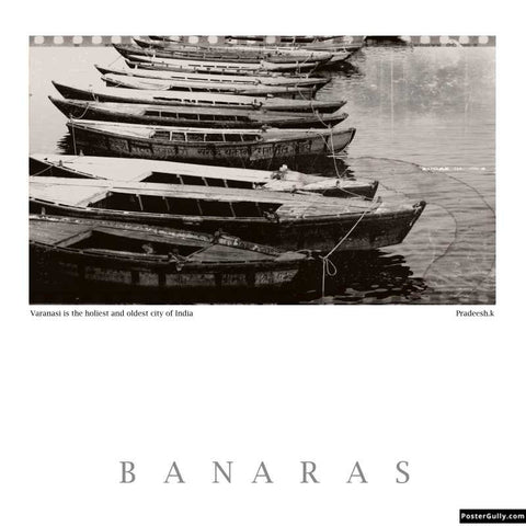 Brand New Designs, Banaras 4 Artwork | Artist: Pradeesh K, - PosterGully